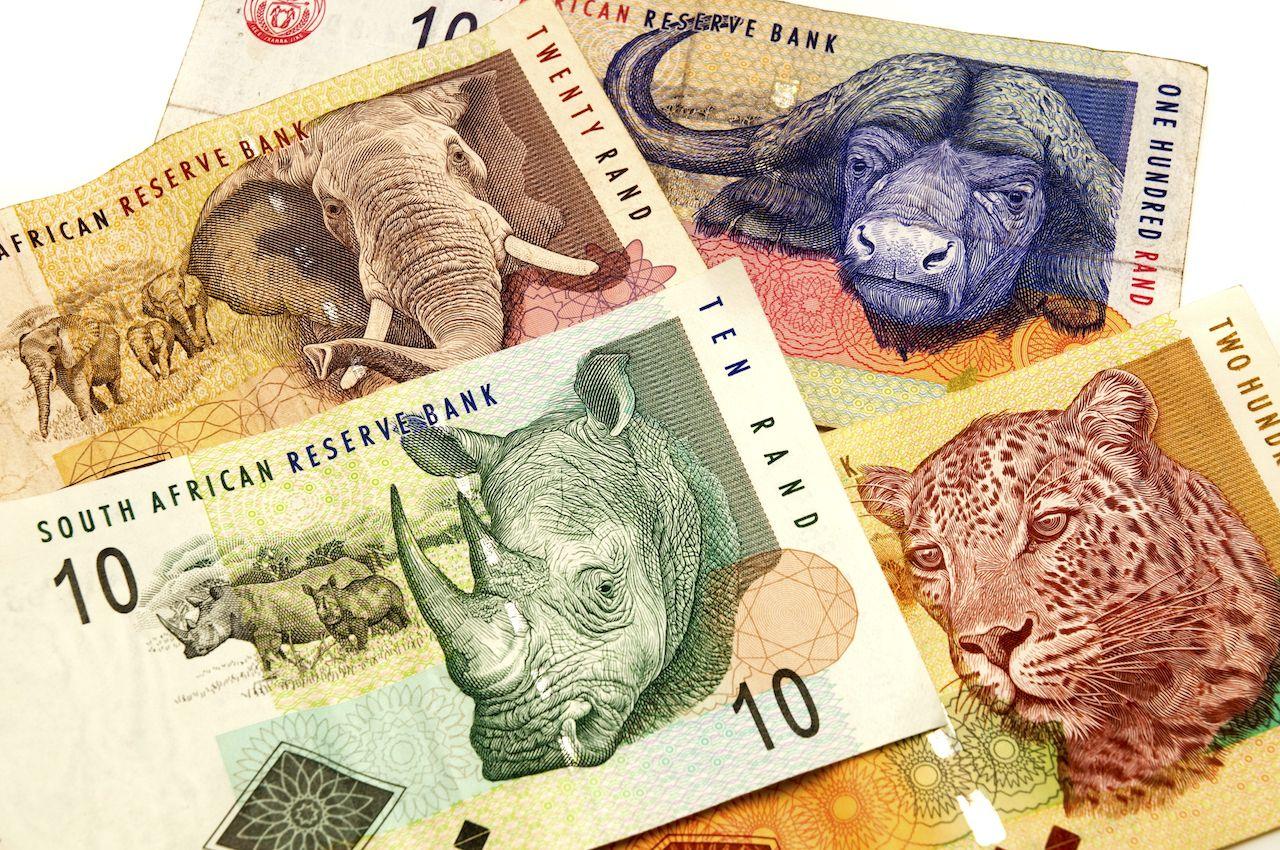 sydafrikanska sedlar, pengar