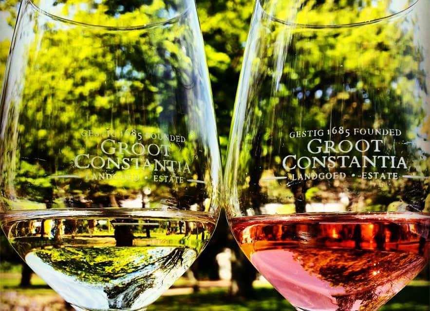 Groot Constantia vingård i Sydafrika