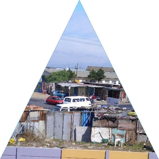 Khayelitsha Kåkstad Kapstaden Sydafrika