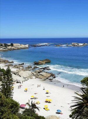 clifton beach i Kapstaden