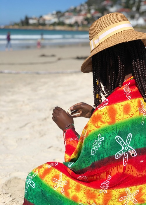 wonam at fish hoek beach by Gina tigere from unsplash