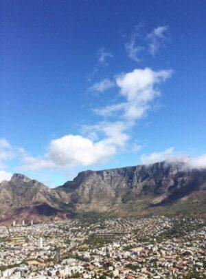 table mountain i Kapstaden