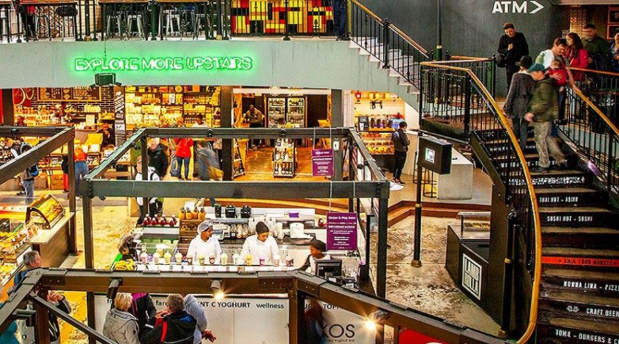 v&a food market i waterfront i kapstaden