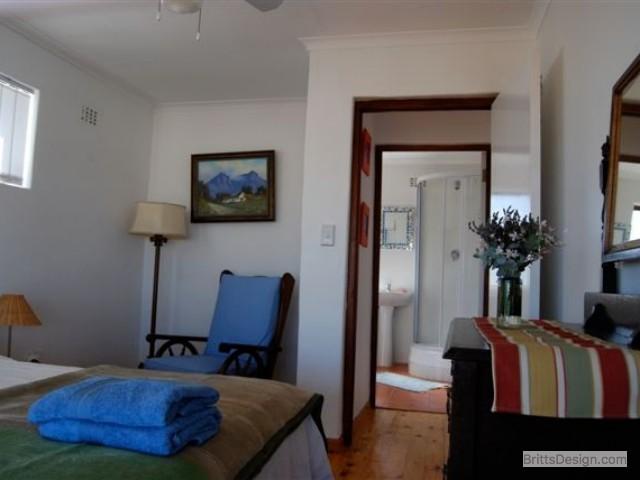 Bedroom upstairs towards bathroom September
