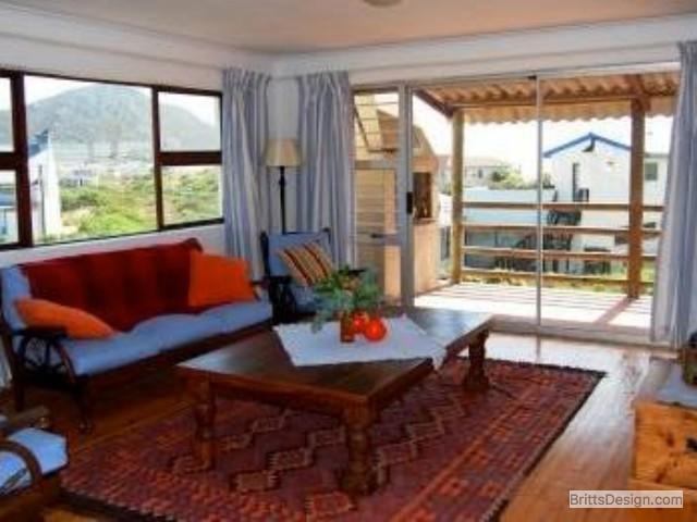 Living room towards balcony
